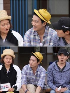 Actor Joo Sang Wook visits the G6 members on 'Invincible Youth 2′