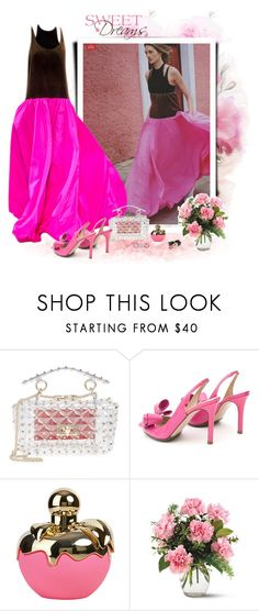 """""""Run to me"""" by akhesa10 ❤ liked on Polyvore featuring Valentino, Nina Ricci, Bling Jewelry and Chanel"""