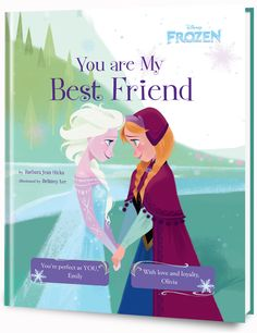 New reward: Are you looking for Frozen fun? Your kids won't want to let go of this personalized book with their name, photo and a special dedication message.