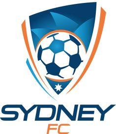 Sydney FC Primary Logo on Chris Creamer's Sports Logos Page - SportsLogos. A virtual museum of sports logos, uniforms and historical items. Soccer Logo, Football Soccer, Soccer Jerseys, Fifa, Sydney Fc, Sydney Australia, Badges, Jersey Atletico Madrid, Australia