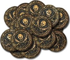 Pirate Coins that was made out of Polymer Clay. How awesome was that! I'd really love to try these one of this days.