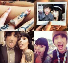 Oliver Sykes & Hannah Snowdon | Engaged