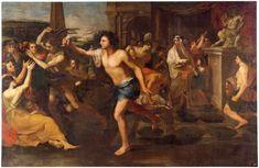 Andrea Camassei, Lupercália, 1635 Museu do Prado Pintura