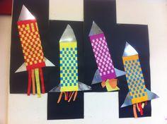 Raket van vlechtwerk