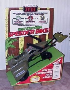 Ride-on Speeder Bike pedal car (Huffy)