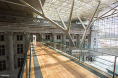 View of the atrium of the National Gallery, Singapore. Courtesy National Gallery, Singapore
