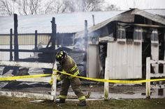Arson not suspected in deadly horse barn blaze  The fire that killed 32 horses in a barn near Woodstock apparently started in a hayloft, but investigators said Monday they may never know the cause of the blaze.  http://www.chicagotribune.com/suburbs/mchenry-woodstock-huntley/ct-horse-fire-update-met-20141124-story.html