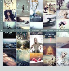 eClipse Photo Portfolio WordPress Theme on Behance