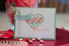 Lorrie's Story: Valentine Card with Silhouette Cameo