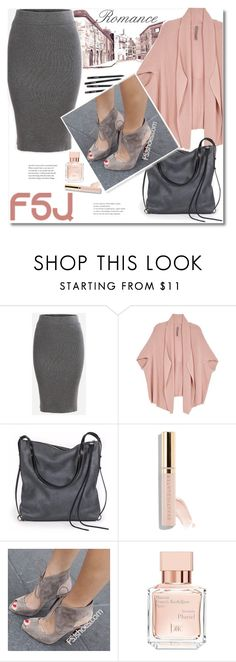 """""""Romance"""" by andrea2andare ❤ liked on Polyvore featuring Melissa McCarthy Seven7, Ina Kent, Beautycounter, Maison Francis Kurkdjian, fsjshoes and plus size clothing"""