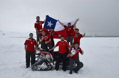 En la Antártica también festejaron con el triunfo de La Roja