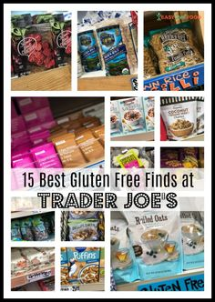 Best Trader Joe's Gluten Free Finds Are you gluten free? Trader Joe's has an extensive list of great foods for you!Are you gluten free? Trader Joe's has an extensive list of great foods for you! Gluten Free Shopping List, Gluten Free List, Gluten Free Diet Plan, Gluten Free Costco, Shopping Tips, Dairy Free Snacks, Dairy Free Recipes, Real Food Recipes, Dessert Recipes