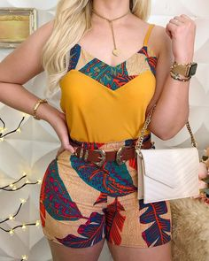 Ladies Summer Spaghetti Strap Print Tops And Shorts Sets Casual Women Sleeveless Sexy 2 Piece Sets Club Outfits Latest African Fashion Dresses, African Print Fashion, Africa Fashion, Ankara Fashion, Tribal Fashion, Latest Fashion, Fashion Online, African Attire, African Dress