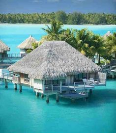 Water bungalow, Bora Bora