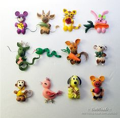 More quilled animals