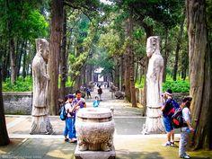 Qufu; China home of Confucius