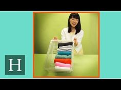 Now, maybe you are wondering about the person behind this cult-like decluttering trend of our generation - KonMari. Let's get to know more about Marie Kondo who became one of the Top 100 most influential people by Time magazine in How To Fold Sweaters, Konmari Methode, Japanese Lifestyle, Tidy Up, Organizing Your Home, Closet Organization, Organization Ideas, Getting Organized, Tricks