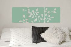 As someone with a wall riddled with studs, I'm a huge fan of things I can just stick on the wall. And Etsy has wall decals that are a bajil. Wall Decals For Bedroom, Vinyl Wall Decals, Wall Stickers, Kitchen Canvas, Instead Of Flowers, Custom Decals, Picture Design, Outdoor Walls, Colorful Pictures