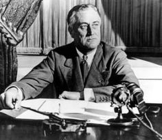 """President Roosevelt's 4 July 1941 address to the nation: """"...we cannot save freedom with pitchforks..."""""""