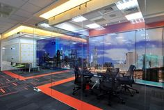 Insurance Companys Communications Cube Offices