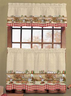 inspiring kitchen window curtain sets