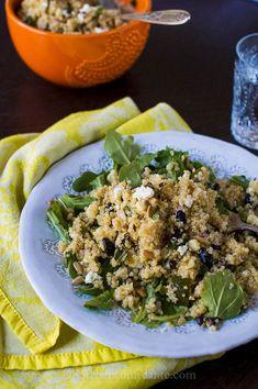 Quinoa Black Bean Corn Salad from @Lisa Lear Baker | Kitchen Confidante