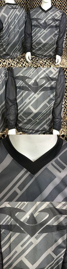 Jerseys and Shirts 165939: New Valken Fate 2 Ii Paintball Jersey - Black Grey - X-Small -> BUY IT NOW ONLY: $32.95 on eBay!