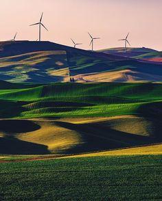 Steptoe Butte Windturbines