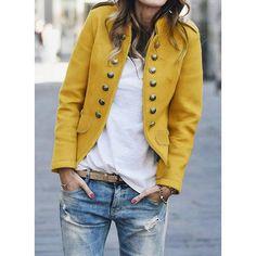 Jotebriyo Womens Casual Solid Cotton Linen 3//4 Sleeve Work Office Blazer Jacket Suit Coat