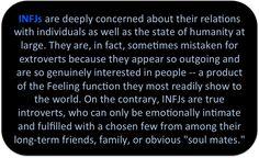 INFJ Truth: God, my extrovert/introvert identity crisis is solved. Infj Mbti, Intj And Infj, Infj Type, Enfj, Extroverted Introvert, Rarest Personality Type, Infj Personality, Personality Psychology, Personality Profile