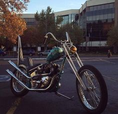 Triumph chopper