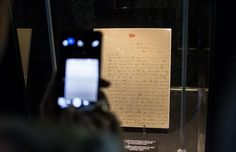 Carta escrita a bordo del Titanic por el primer oficial William Murdoch el 11 de abril de 1912. .   LD/David Alonso Rincón