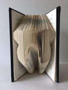 Folded Book Art Tooth Dentist Birthday by GiftwithTreasures
