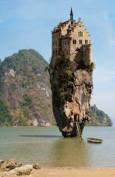 Que mago vivira aqui...