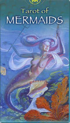 My mermaid tarot. Beautiful cards with lots of boobies!!!!