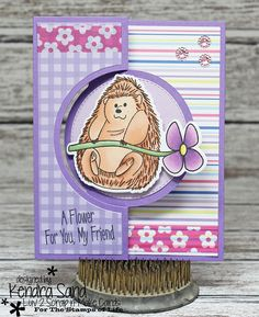 Luv 2 Scrap n' Make Cards, The Stamps of Life, Handmade Card