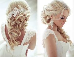 New! Stunning Wedding Hairstyle Inspiration from Elstile - MODwedding