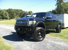 2010 - 2012 Ford Lifted Trucks