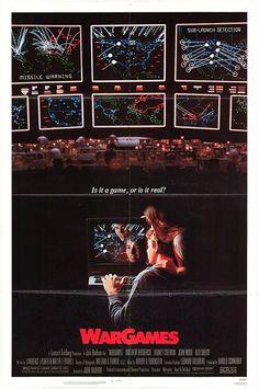 "'Juegos de Guerra' de 1983 y dirigida por John Badham. ""A strange game, the only winning move is not to play"" 80s Movies, Great Movies, Movies To Watch, Awesome Movies, Iconic Movies, Action Movies, Love Movie, Movie Tv, Movie List"