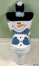 Resultado de imagen para adornos para baños navideños