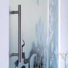 Sliding Glass Door, Sliding Doors, Modern Glass, Door Handles, Sconces, Wall Lights, Home Decor, Homemade Home Decor, Sliding Door