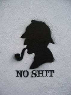Sherlock -  street art