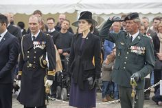 Princess Mary attends the ANZAC Day 2015 at the Kastellet