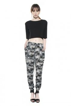 Organic Boxy Crop Top, $78, available at OTTE New York.