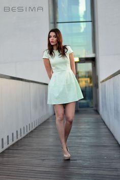 Sukienka z kolekcji sklepu Besima.pl Modelka: Dominika http://besima.pl