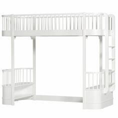 Oliver Furniture - Wood Hochbett 90 x 200 cm Weiß