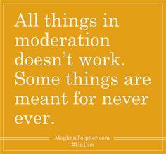 #UnDiet #Moderation