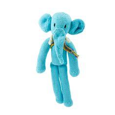 light blue elephant