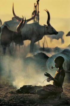 extraordinárias fotos da tribo dinkas, no sudão                                                                                                                                                                                 Mais