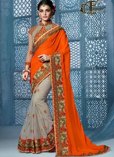 half sarees online shopping india